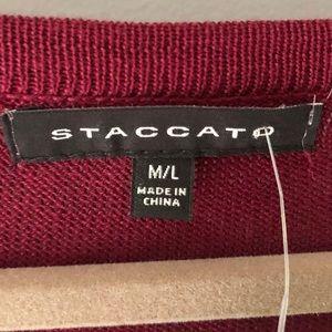 Staccato Sweaters - Stitch Fix Staccato Astur Pullover Poncho